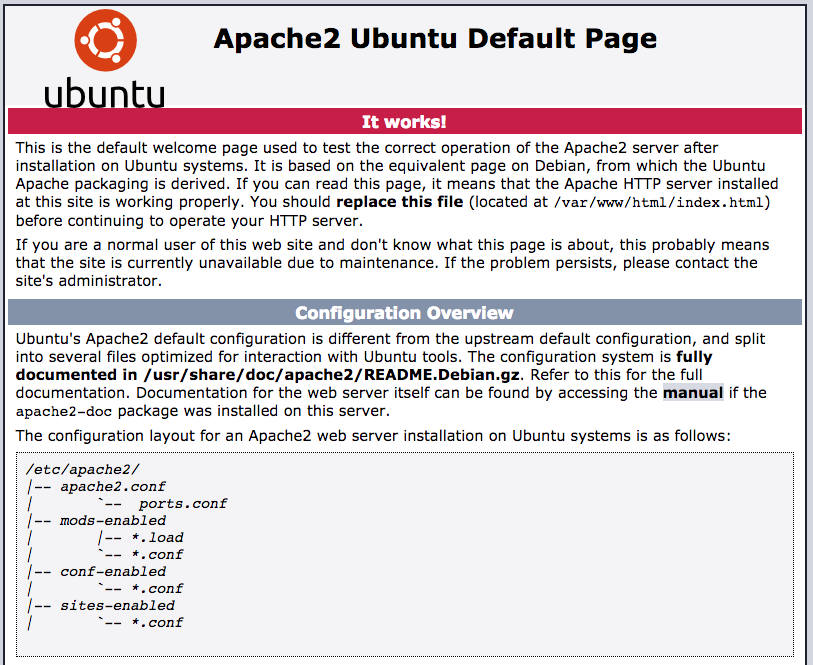 ubuntu apache init