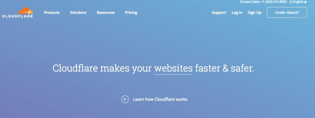 CloudFlare 註冊