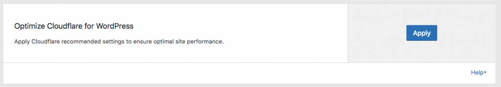 CloudFlare 最佳化