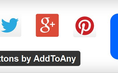 AddToAny WordPress 社群分享連結外掛